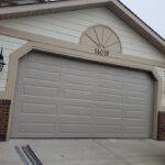 New gray color Garage door