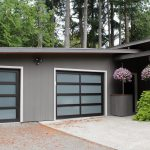 contemprory garage doors