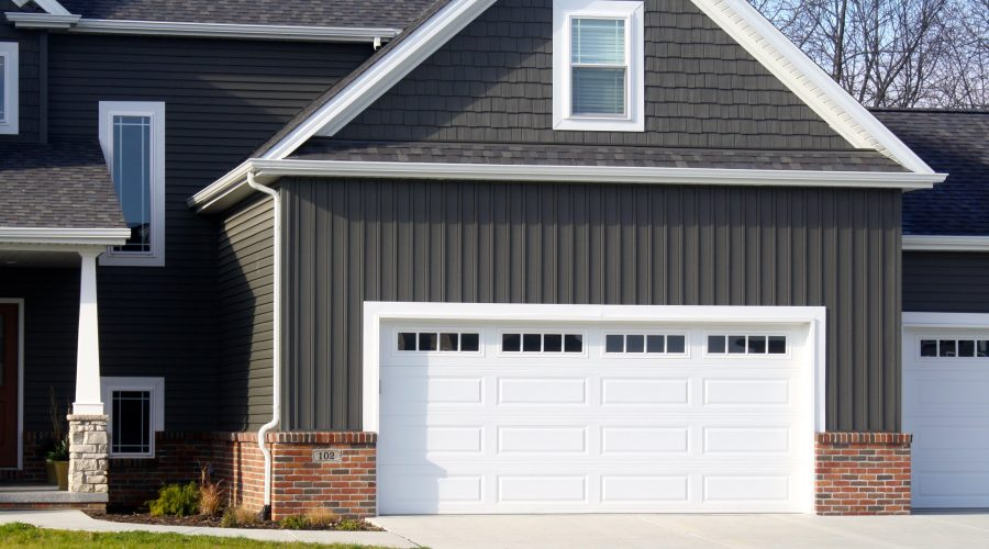 Raised-Panel Garage Doors